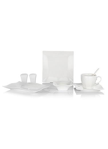 Schafer 32 Prç.Blanco Kahvaltı Takımı - BYZ01 Beyaz